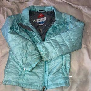 Colombia light omniheat core jacket.
